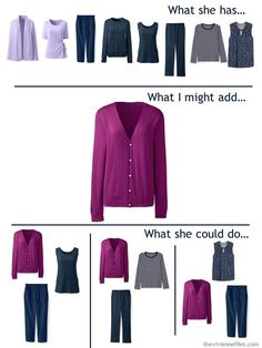 Work Wardrobe, Capsule Wardrobe, Travel Wardrobe, Cool Winter Color Palette, Teal Outfits, The Vivienne, Fashion Capsule, Cashmere Sweaters, Plum