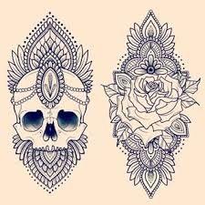 Myndaniðurstaða fyrir mandala rose tattoo