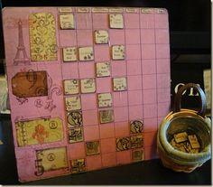 Magnetic Calendar & chore chart