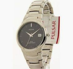 PULSAR MENS STAINLESS STEEL DATE Watch $61.16 reg. $195.00 http://wp.me/p3bv3h-8NW