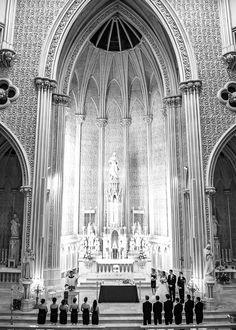 Inside of St. John's church