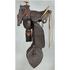 Early Texas Trail Saddle