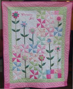 Stitchnquilt: A Quilt for Christine Joy