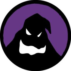 Nightmare Before Christmas NBC Oogie Boogie Black Face Purple Background 3 inch Patch New Purple Halloween, Halloween Kids, Halloween Crafts, Halloween Party, Silhouette Images, Silhouette Files, All Silhouettes, Christmas Silhouettes, Vector Christmas