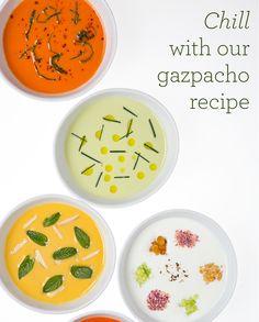 Inventive ways to make gazpacho.