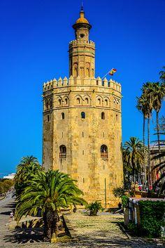 Torre del Oro - Seville Spain