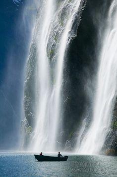 Norwegian nature- waterfall