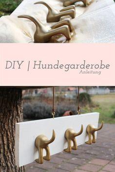 Hundegarderobe selber machen DIY | Hundegarderobe Anleitung
