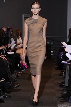 New York Fashion Week Fall 2012 - Carmen Marc Valvo #nyfw