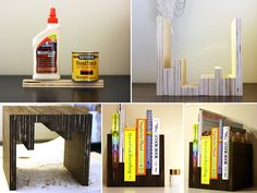 How to Make Anthro Inspired Bookcase - DIY & Crafts - Handimania