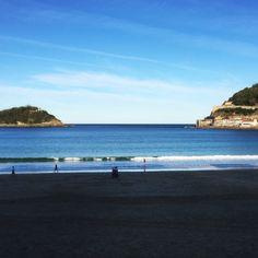 La Concha Bay, Donostia-San Sebastian.