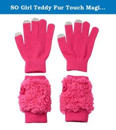 Set of Four Pairs One Size Magic Stress Gita Gloves for Infants Ages 1-3 Years