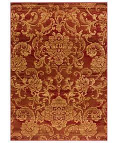 """MANUFACTURER'S CLOSEOUT! Kenneth Mink Area Rug, Northport LON-101 Red 7'10\"""" x 10'10\"""""""