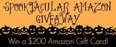 Spooktacular Amazon Gift Card Giveaway! Win a $200 Amazon Gift Card! - Stacy's Savings