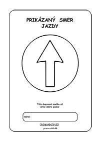 Dopravné značky - omaľovánky - Prikázaný smer jazdy Symbols, Peace, Kids, Children, Boys, Icons, Children's Comics, Boy Babies, Kid