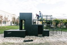 Teen Playground, KATOxVictoria, Slangerup Denmark, 2013   Playscapes