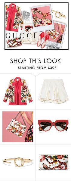 """""""Presenting the Gucci Garden Exclusive Collection: Contest Entry"""" by luvfashn ❤ liked on Polyvore featuring Gucci, Thakoon Addition, Prada and gucci"""