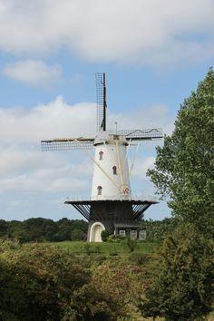 Windmill veere the netherlands