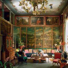 Tony Duquette interiors