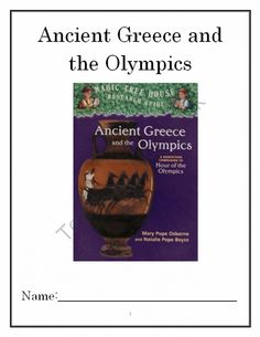 A research on the ancient olympics