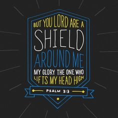 Good Morning Soldiers Of Christ! Arise and Put On the Armor Of Our Lord! Today's Verse of the day! Psalms 3:3. Join Me! Let's Walk Together Victorious! AMEN!