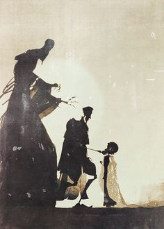 """""""….and he greeted Death as an old friend, and they parted this life as equals."""" -The Tale of the Three Brothers"""