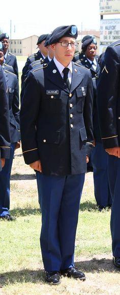 "071114 US ARMY basic training graduation. Fourth Platoon * ""Hell Raisers"" with  PVT Dustin Salisbury"