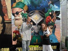 goOk aka w33daddict & koOlibri Stand Khalada Comics EXPOGROW 2012... #w33daddict #HeroSeeds #KhaladaCómics