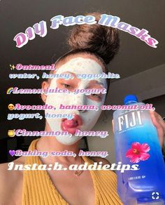 DIY Acne Face Mask Recipes Natural skin care - Hair Beauty World Beauty Tips For Glowing Skin, Clear Skin Tips, Clear Skin Overnight, Diy Overnight Face Mask, Pele Natural, Diy Masque, Face Mask For Blackheads, Blackhead Face Mask, Skin Care Routine For 20s