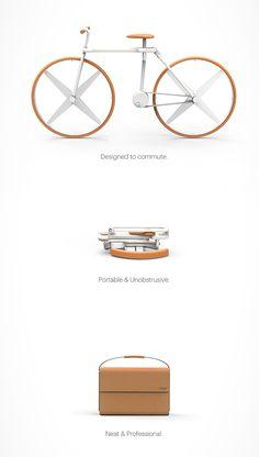 Fold : un vélo pliable révolutionnaire qui se range dans une pochette !