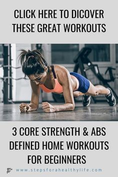 3 home workout for core strength  abs definitionno