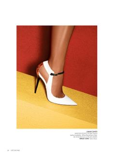 """Although I'm not a fan of white shoes, I do love these """"Maiden Point Pumps"""" by Jimmy Choo"""