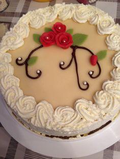 50v kakku - Anoopin 50v syntymäpäivä kakku. -Jeanette - Aina on aihetta leipoa kakku -kilpailun satoa 15.4. - 16.6.2014 https://www.facebook.com/leivojakoristele