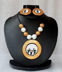 Image result for warli terracotta pendants