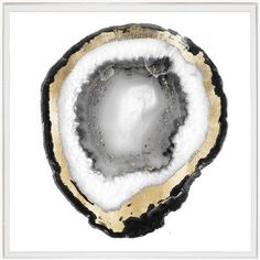 Black & White Geode 1 - Natural Curiosities