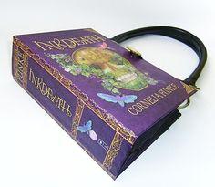 Book Purse  Inkdeath Book Handbag by retrograndma on Etsy, $49.99