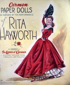 The Loves of Carmen Paper Dolls