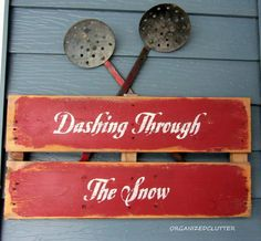 Shanty sign: Vintage Ice Fishing Dippers And Snow Sign Christmas Love, Country Christmas, Winter Christmas, Vintage Christmas, Christmas Ideas, Holiday Ideas, Xmas, Holiday Signs, Christmas Signs