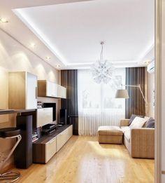 led-beleuchtung-wohnzimmer-ideen-led-streifen-spots | licht, Wohnzimmer