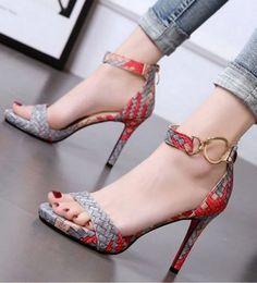summer fashion high heel sandals women sexy party open toe sandals for women shoes 2019 platform heels sandals women Platform High Heels, High Heel Boots, High Heel Pumps, Pumps Heels, Stiletto Heels, Strap Heels, Jeans Heels, Ankle Straps, Huarache