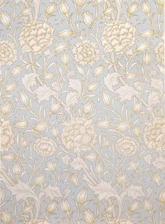 'Wild tulip wallpaper' [blue] c.1900, London MORRIS & COMPANY, London Britain, 1861 - 1940 MORRIS, William, designer Britain, 1834 - 1896 JEFFREY & COMPANY, printer Britain, 1836 - 1930 colour woodcut on paper 44.0 x 53.0 cm Gift of Marbury School Inc. 1992 Art Gallery of South Australia, Adelaide