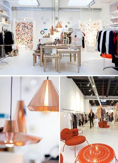 concept store, located in Eindhoven, The Netherlands, Display Design, Store Design, Visual Merchandising Displays, Restaurants, Boutique Interior, Loft, Retail Space, Shop Interiors, Commercial Interiors