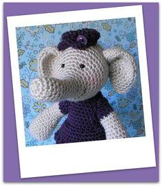 elsie the elephant crochet pattern