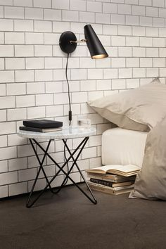 Birdy is a table, wall and floor lamp series designed in 1952 by birger Dahl.  In 2013 Northern Lighting decided to re-launch this design classic, taking care to preserve the original shape and highly functional features that at first made it such a well–loved light.