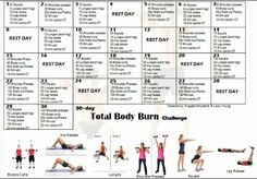 Pin by Jodi Higgs on My 30-Day Fitness Challenges (really