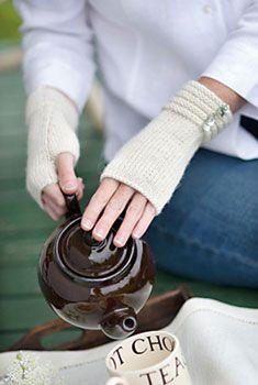 welted fingerless glove pattern $5.25