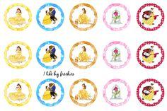 Belle bottlecap images (freebies)
