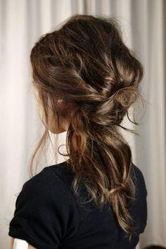 Wedding Hair-a little less messy