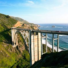 Cayucos to Point Lobos: Here Highway 1 earns its status as one of the world's great drives. Mountains plunge straight into the Pacific. Veils of fog drift into redwood canyons, blurring the boundaries between continent, ocean, and sky.