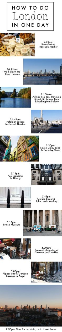 London tips from a Londoner: how to see the city in just a day!